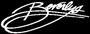 white beverly's logo