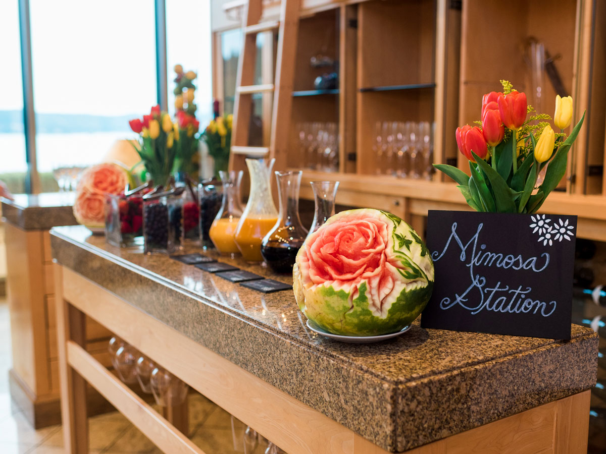 beverly's mimosa station